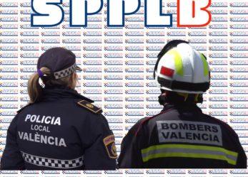 El SPPLB pide tratar ya los problemas de policías y bomberos de València
