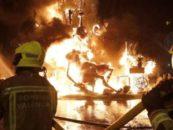 Policías locales y bomberos cargan contra «la improvisación en Fallas»