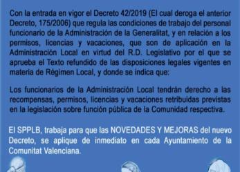 SPPLB Benidorm gana una sentencia judicial. La legislación autonómica es de aplicación a la Administración Local