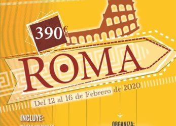 Viaje a Roma. Del 12-02-2020 al 16-02-2020