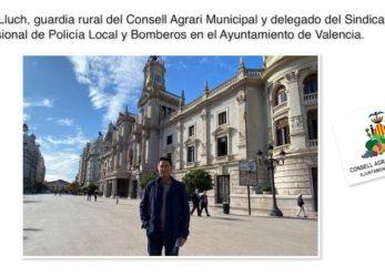 Paco Lluch, guardia rural del Consell Agrari Municipal y delegado del SPPLB. Comenta en CvRadio las funciones del Guardia Rural