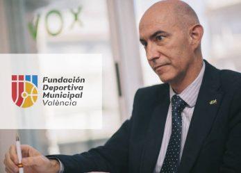 REUNIÓN FESEP CON EL GRUPO MUNICIPAL VOX EN EL  AYUNTAMIENTO VALENCIA POR LA DEFICIENTE SITUACIÓN DE LA FUNDACIÓN DEPORTIVA MUNICIPAL.