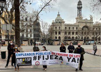 Mañana día 21 con vocatoria de concentración en Valencia frente a Les Corts para apoyar la PNL