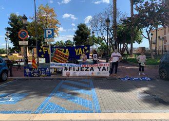 Manises (Valencia) 1º CONCENTRACIÓN 14 DE MAYO DE 2021 #FIJEZA YA